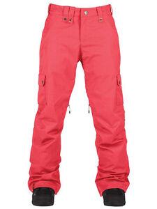 New Womens Bonfire Safari Insulated Ski and Snowboard Pants Medium Tango