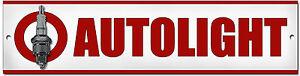 Garage Sign.old Zahlreich In Vielfalt Auto & Motorrad: Teile Automobilia Autolight Zündkerzen Metall Schild