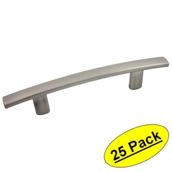 *25 Pack* Cosmas Cabinet Hardware Brushed Satin Nickel Pulls - #2363-3SN
