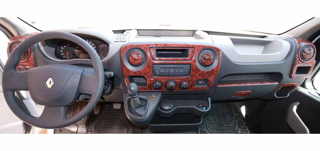 CRU401 Mascherine Sagomate Rivestimento Cruscotto Camper Renault Master  RN