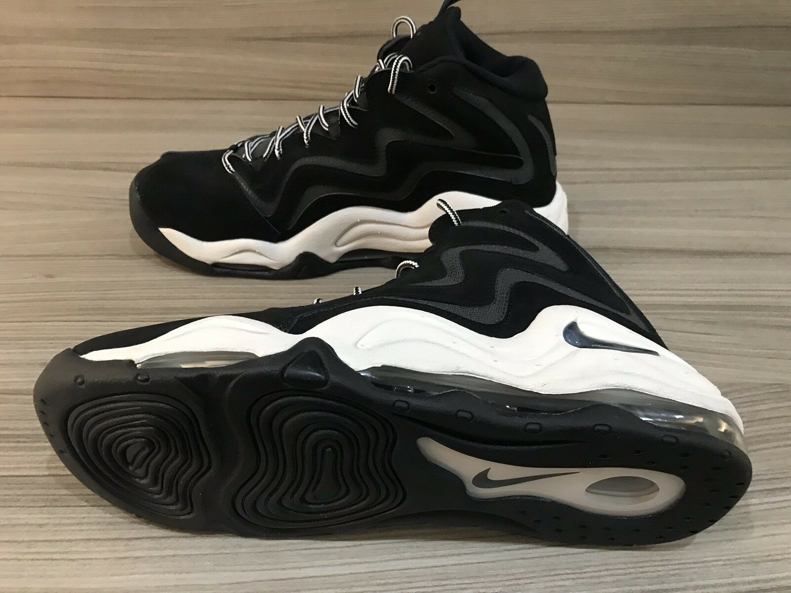 NIKE AIR PIPPEN BLACK    ANTHRACITE UK6  NEW [325001 004] 100%AUTHENTIC d10643