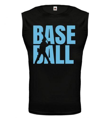 Unisex Muskelshirt ärmellos Tank Top Baseball Type Fanshirt Trikot kaufen