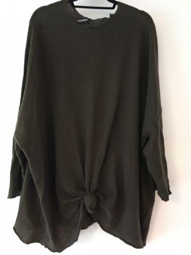 Rundholz Olive Green Cashmere Sweater