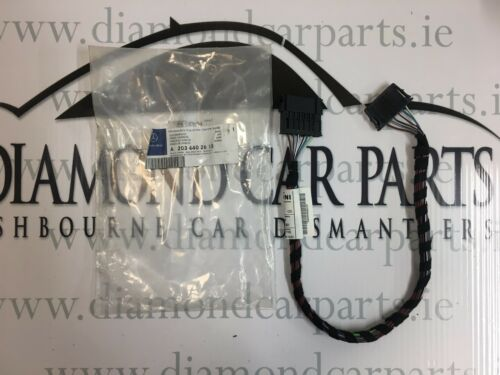 BRAND NEW GENUINE MERCEDES W203 C-CLASS CABLE HARNESS A2034402613
