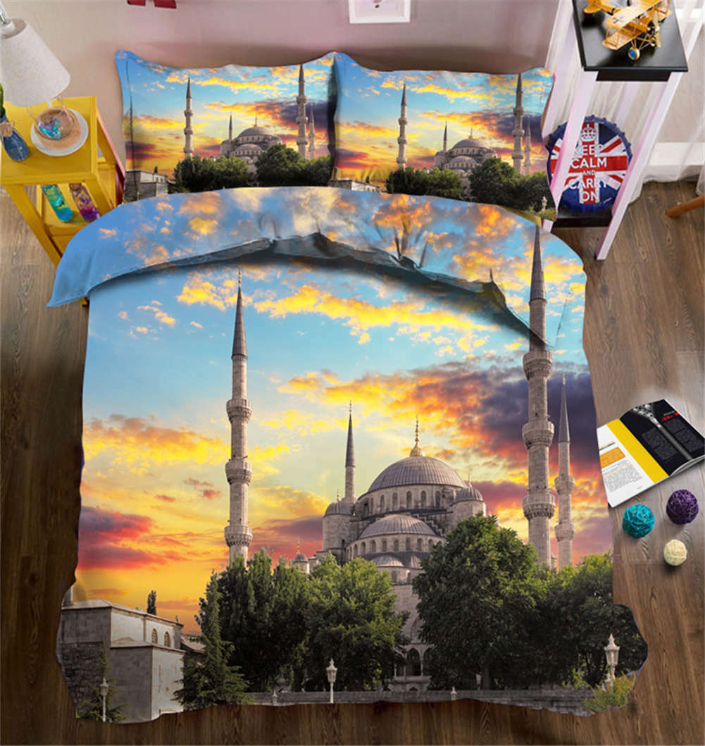 Clean-cut Alcazar 3D Printing Duvet Quilt Doona Covers Pillow Case Bedding Sets