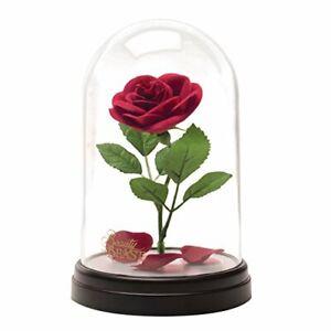 Rose Eternelle sous Cloche,La Belle et La B/ête Rose Rose /Éternelle sous Cloche Rose Enchant/ée Lumi/ère LED avec D/ôme en Verre Soie Rose pour F/ête M/ères Saint Valentin Anniversaire de Mariage