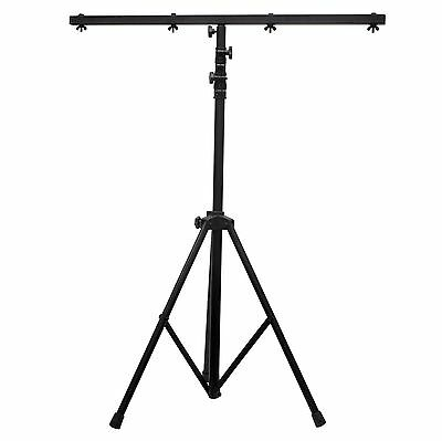 American DJ 9 Ft Black Lighting Tripod T-Bar Light Stand w/ Cross Bar | LTS-6
