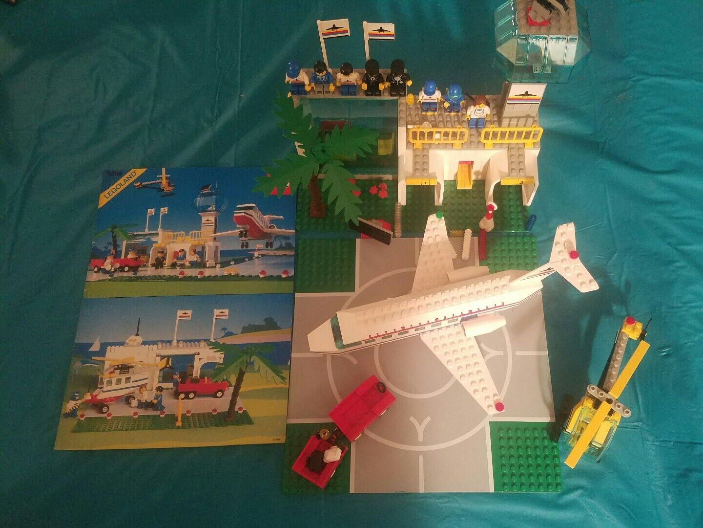 Lego Set Set Set Number 6396, International Jetport, Produced in 1990 - Manual 99% comp b71a52