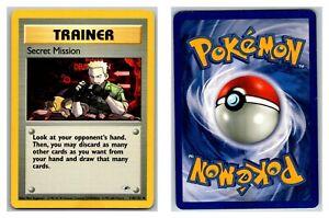 Secret-Mission-118-132-Gym-Heroes-Pokemon-Card-LP-P-Cond