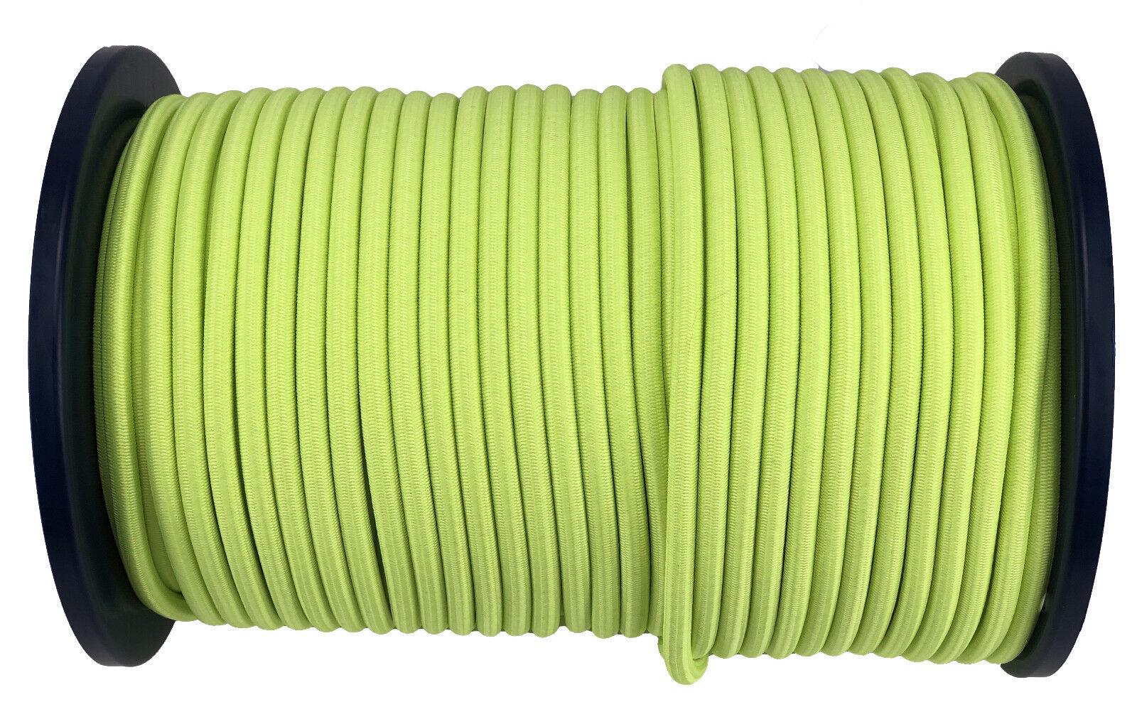 8mm Fluoreszierend Gelb Elastisches Gummi Seil Gummiseil Fessel X 100 100 100 Meter b5470a