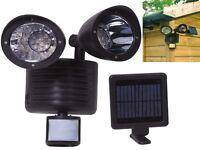 22 LED SMD SOLAR  PIR MOTION SENSOR SECURITY LIGHT OUTDOOR GARDEN RECHARGEABLE