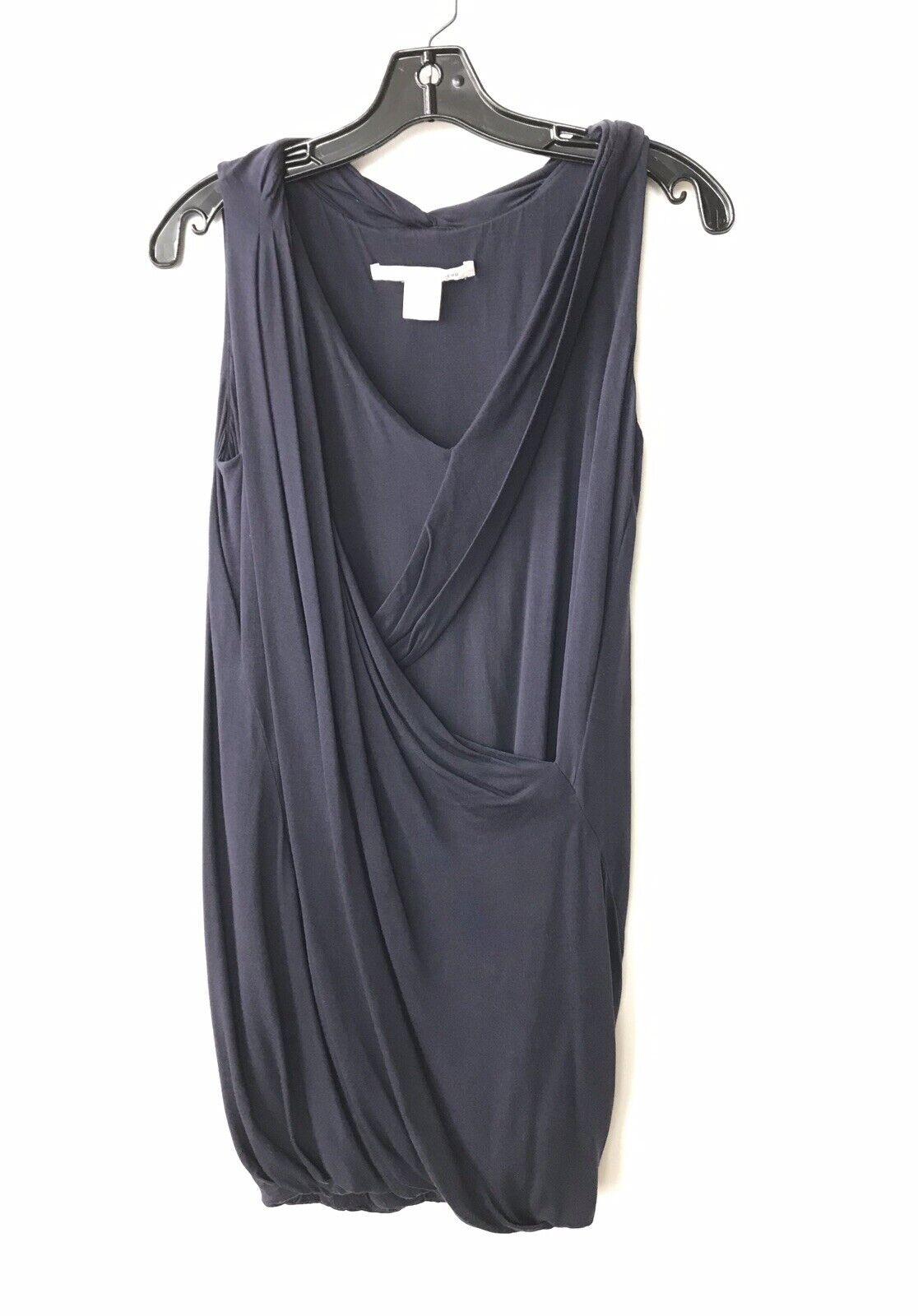 Diane Von Furstenberg Petite Navy Navy Navy Dress 18dc7c