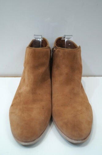 Colour amp; Embroidery Sam Edelman Suede Tan Multi Uk8; Women's Us10m Boots Ankle FYIwH