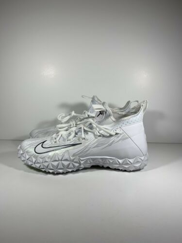 Nike 5 6 115 Turf Misura 923423 Huarache 10 Lacrosse Alpha 882801448645 Whitemetallic Scarpe KFc1lTJ