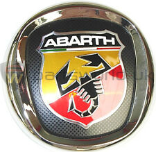 New Genuine Fiat Abarth Grande Punto front grille Logo Badge Emblem 735495891