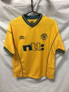 """39f448c5705 Umbro Youth Yellow Soccer Jersey """"ntI:"""" The Celtic Football Club ..."""