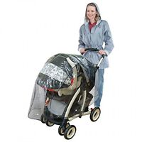 J Is For Jeep Travel System Weather Shield, Baby Rain Cover, Universal Size,