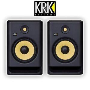 "KRK Rokit RP8 G4 Professional Active Powered 8"" DJ Studio Monitor Speaker (Pair)"