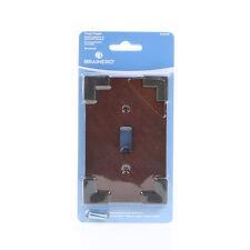 W27022-CHS Rowland Charcoal Ebony & Soft Iron Single Switch Cover Plate