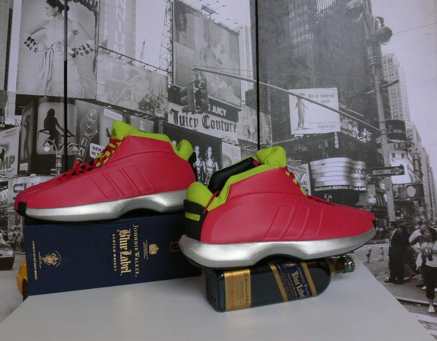 """adidas  Crazy 1 """"I Love Mom""""  Vivid Berry Limited Edition US 15 /14.5 / EU51"""