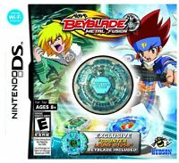 Beyblade: Metal Fusion (collector's Edition) (ds) W/counter Leone D125b Beyblade