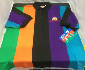 VINTAGE NBA 1990'S IN THE PAINT NBC SPORTS SIZE X LARGE SHORT SLEEVE SHIRT