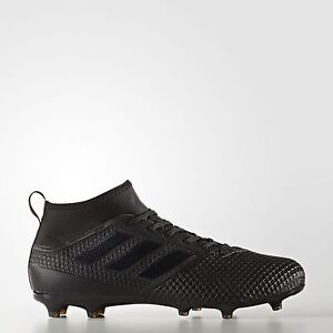 Adidas Ace 17.3 FG Firm Ground All Black Men's Soccer Cleats BY2197