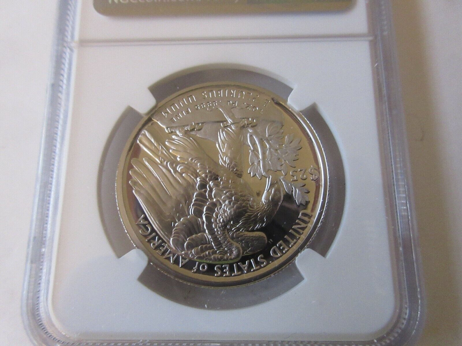 2018 W Eagle Pd$25 American Liberty NGC High Relief PF