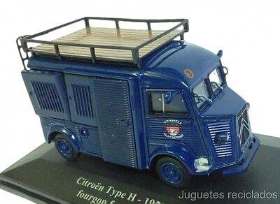 1/43 CITROEN TYPE H 1950 FOURGON FOURRIERE ELIGOR DIE CAST MODEL CAR