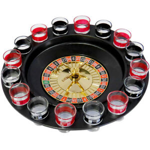 Evelots-Casino-Shot-Glass-Roulette-Drinking-Game-Set-With-16-Shot-Glasses