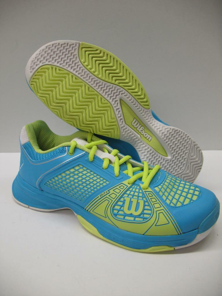 Wilson WRS317910 Rush NGX Tennis Racquetball Training Schuhes Blau Green Damenschuhe 8