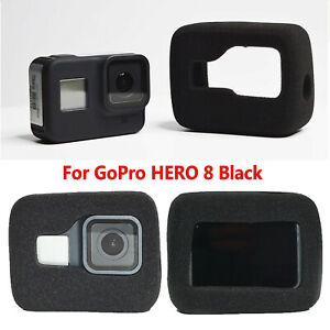 Para GoPro HERO 8 Negro Funda Protectora Body Shell Carcasa Espuma de reducción de ruido