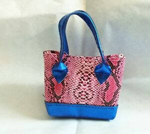 """Beach Tote Bag Rainbow Heart 18/"""" Doll Clothes Accessory Fits American Girl Dolls"""