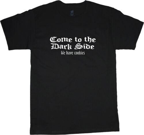 big and tall t-shirt come to the dark side cookies funny tee shirt tall shirt