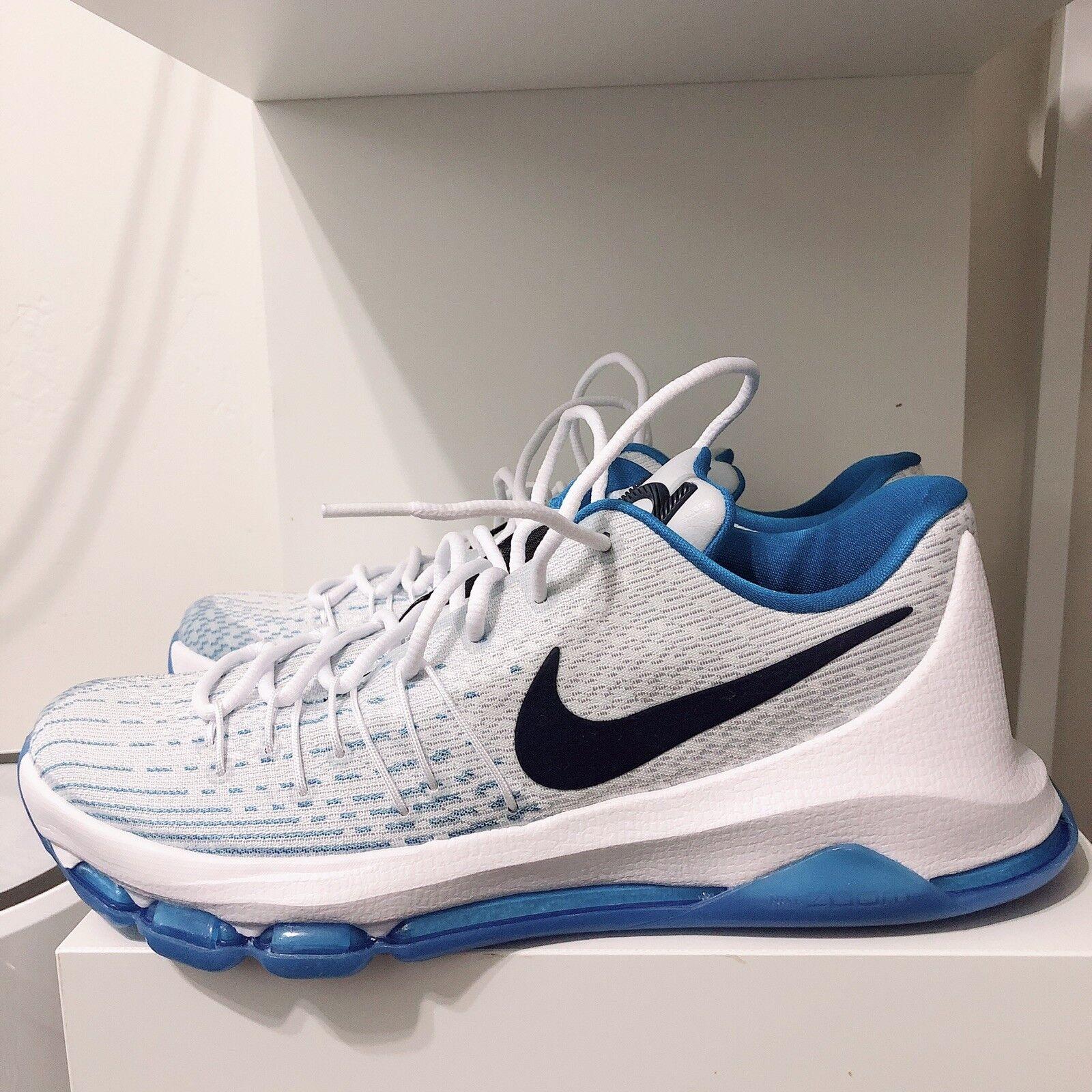 Nike Air Max Kevin Durant 8 Sz 10 White bluee