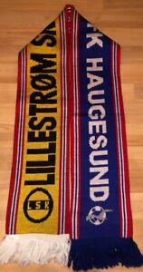 Lillestr-m-SK-vs-FK-Haugesund-schal-scarf-sciarpa-bufanda-echarpe-ultras-dynamo
