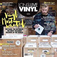Long Live Vinyl Magazine #1 PREMIER COLLECTOR'S EDITION David Bowie Roger Dean