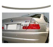 SPOILER / LAME DE COFFRE ABS LOOK CSL BMW SERIE 3 E46 COUPE DE 1999 A 2006