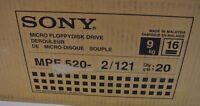 Brand Sony Mpf520-2 Mpf 520-2 Black 3.5 Floppy Drive