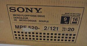 Brand-New-Sony-MPF520-2-MPF-520-2-Black-3-5-034-Floppy-Drive-Non-PC-Usage