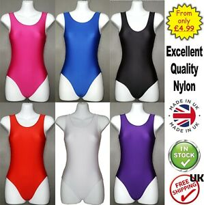 Girls-Leotards-Sleeveless-Kids-Leotard-Dance-Gymnastics-Ballet-uniform-CC