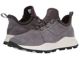 Details about Men's Shoes Timberland BROOKLYN OXFORD Perforated Sneakers TB0A21H1 GREY