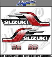 Suzuki - 85hp - Outboard Decals