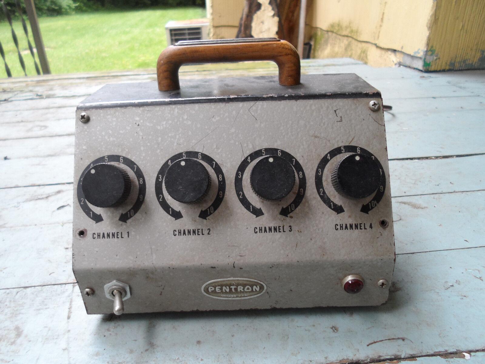 Vintage Pentron MM-4A Guitar Tube Preamp