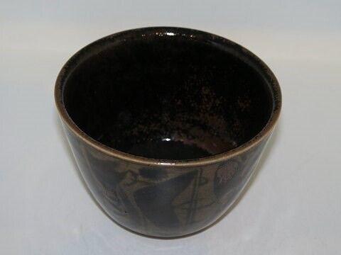 Porcelæn, Royal Copenhagen keramik  Unika skål af