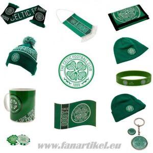 Celtic-FC-Fanshop-Fanartikel-Schal-Fahne-Pin-Geburtstag-Weihnachten-Geschenk