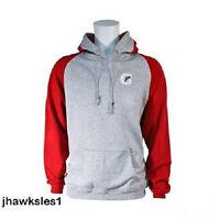 Gatorade Hooded Pullover W/stripe - Sweatshirt Gray/red (men's Size Xl)