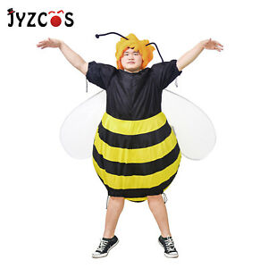 Bumble-Bee-Costume-Adult-Inflatable-Fancy-Dress-Halloween-Outfit-Carnival-Party