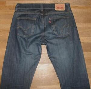 """Levi `S 506 D' Homme Jeans / Levis Bleu Jeans En Noir-Bleu W34 """" / L36 """""""