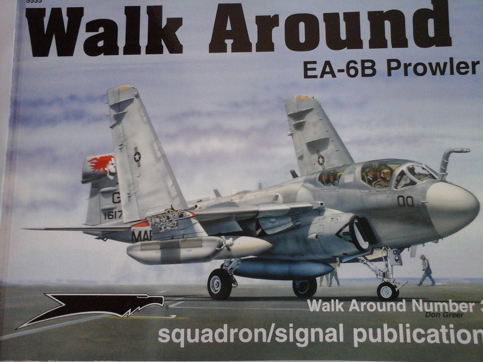 SQUADRON SIGNAL WALK AROUND N..35-EA-6B PROWLER-BY LARRY DAVIS